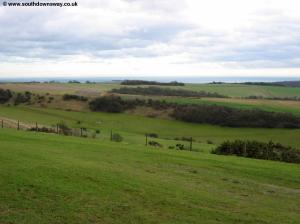 The downs near Chanctonbury Ring