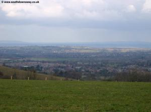 View near Sullington Hill