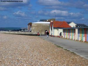 The sea front in Seaford