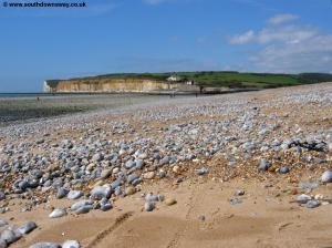 Cuckmere Haven looking back towards Seaford