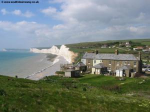 Birling Gap from Went Hill