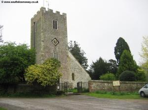 Buriton Church