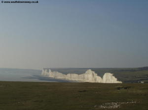 The Seven Sisters, from Went Hill