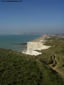 View of Seaford from Seaford Head